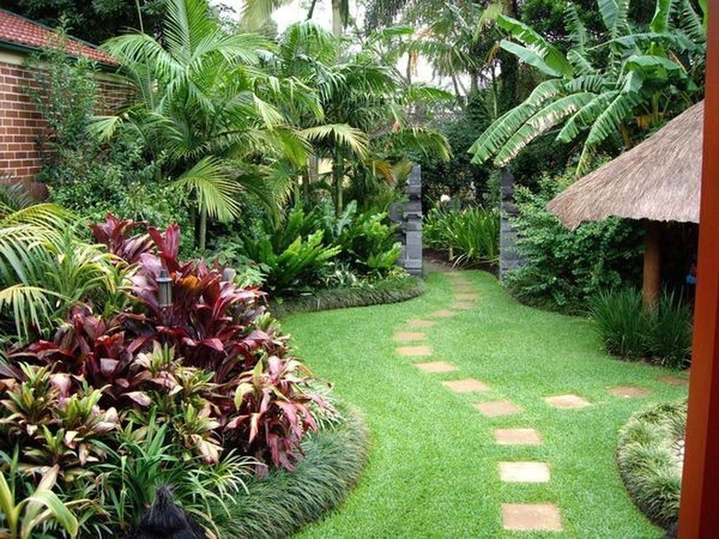 50 Awesome Tropical Garden Landscaping Ideas Landscaping Ideas in 14 Smart Designs of How to Upgrade Backyard Tropical Ideas