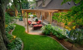 50 Backyard Landscaping Ideas To Inspire You with Landscaped Backyards