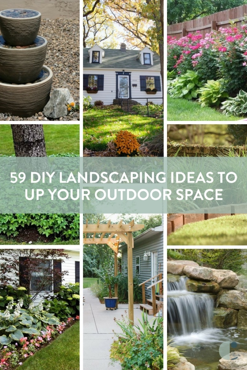 59 Diy Landscaping Ideas And Tips To Improve Your Outdoor Space Curbly throughout Backyard Landscaping Plans