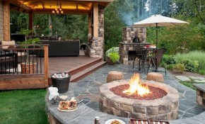 60 Easy Backyard Fire Pit With Cozy Seating Area Ideas Homixover with regard to 15 Smart Concepts of How to Craft Easy Backyard Ideas