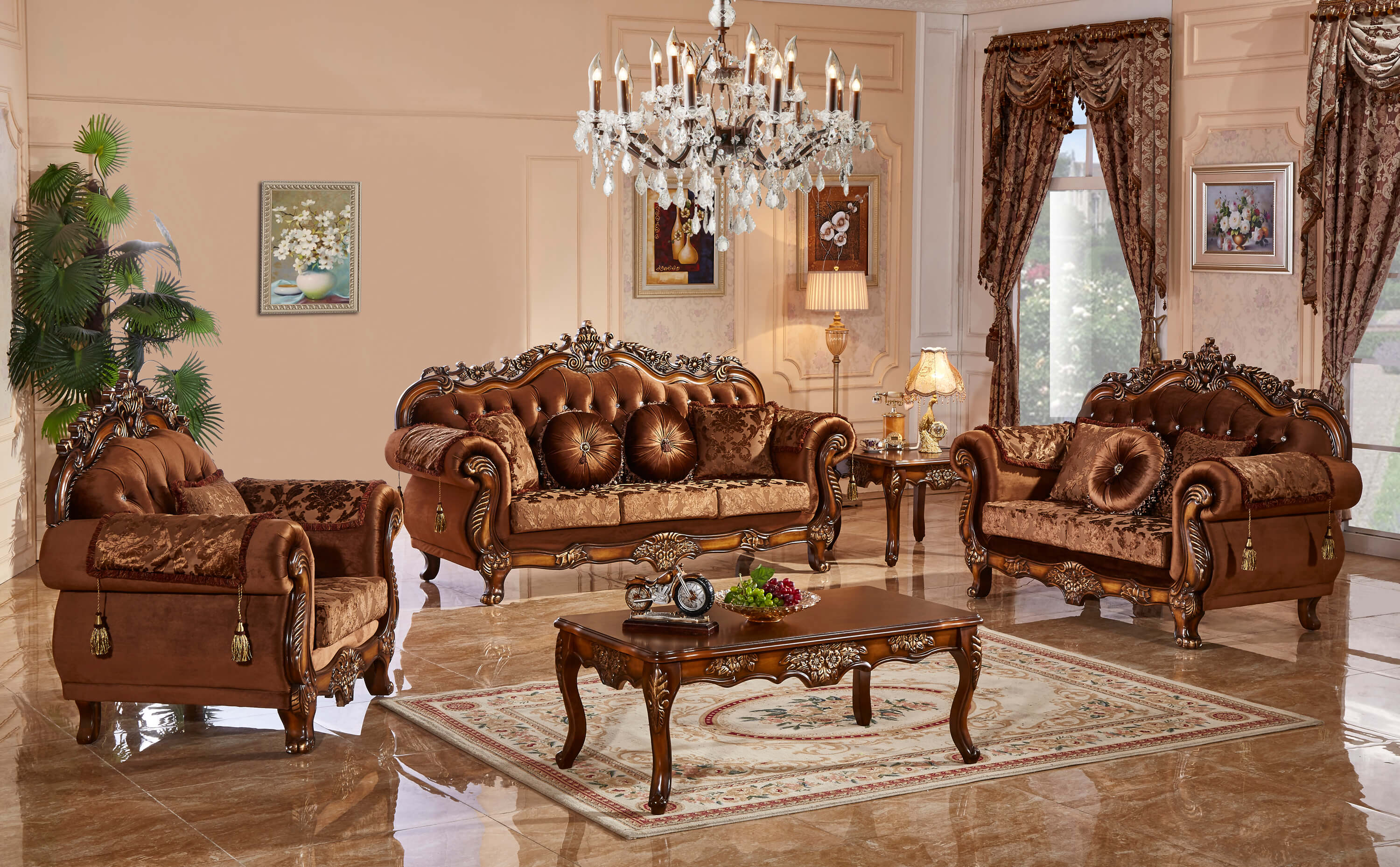 692 Meridian Furniture Living Room Collection Discontinued intended for Traditional Living Room Sets