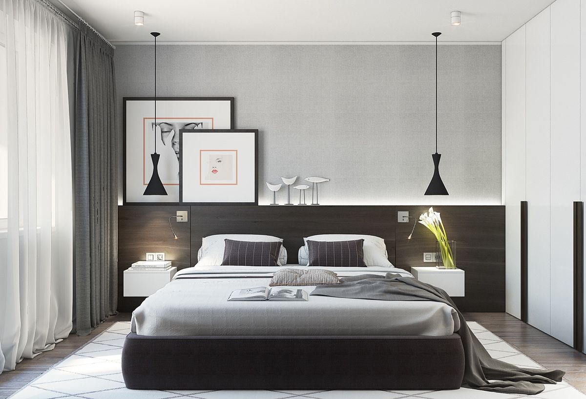 7 Modern Small Bedroom Design Ideas Facefabskin intended for 10 Smart Ways How to Improve Modern Bedroom Design Ideas