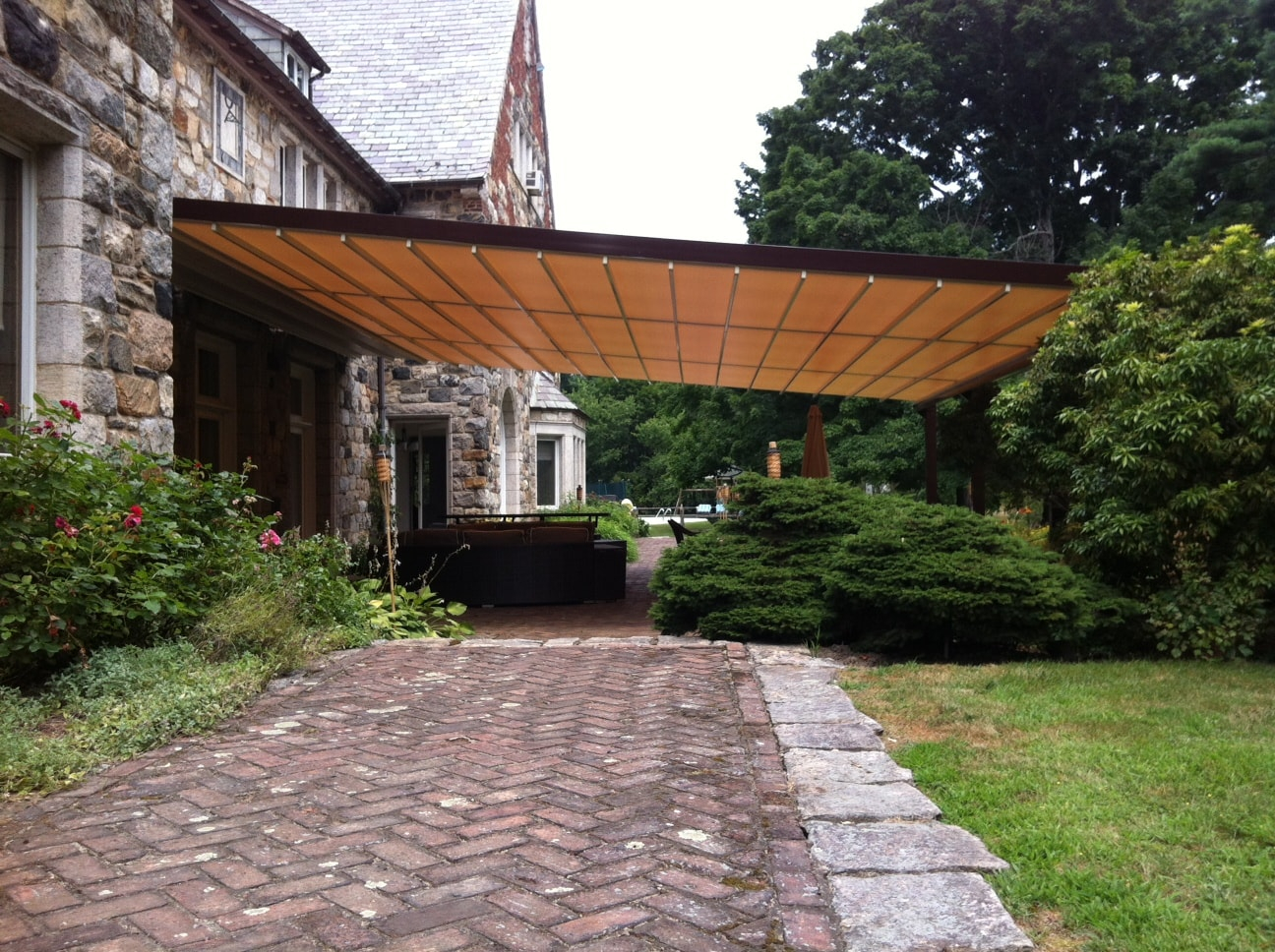 7 Patio Cover Ideas For Your Backyard Retractableawnings for 12 Genius Concepts of How to Build Backyard Patio Roof Ideas