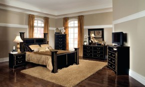 Awesome 35 Black Bedroom Furniture Cileather Home Design Ideas inside 15 Awesome Tricks of How to Make Ashley Modern Bedroom Sets