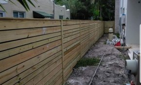 Backyard Fence Styles Installation In Coconut Creek Fl Backyard for Backyard Fence Styles