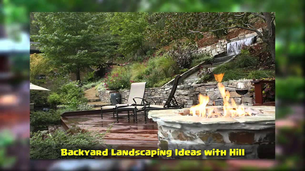 Backyard Landscaping Ideas With Hill intended for 13 Awesome Concepts of How to Makeover Landscaping Ideas For A Hill In Backyard