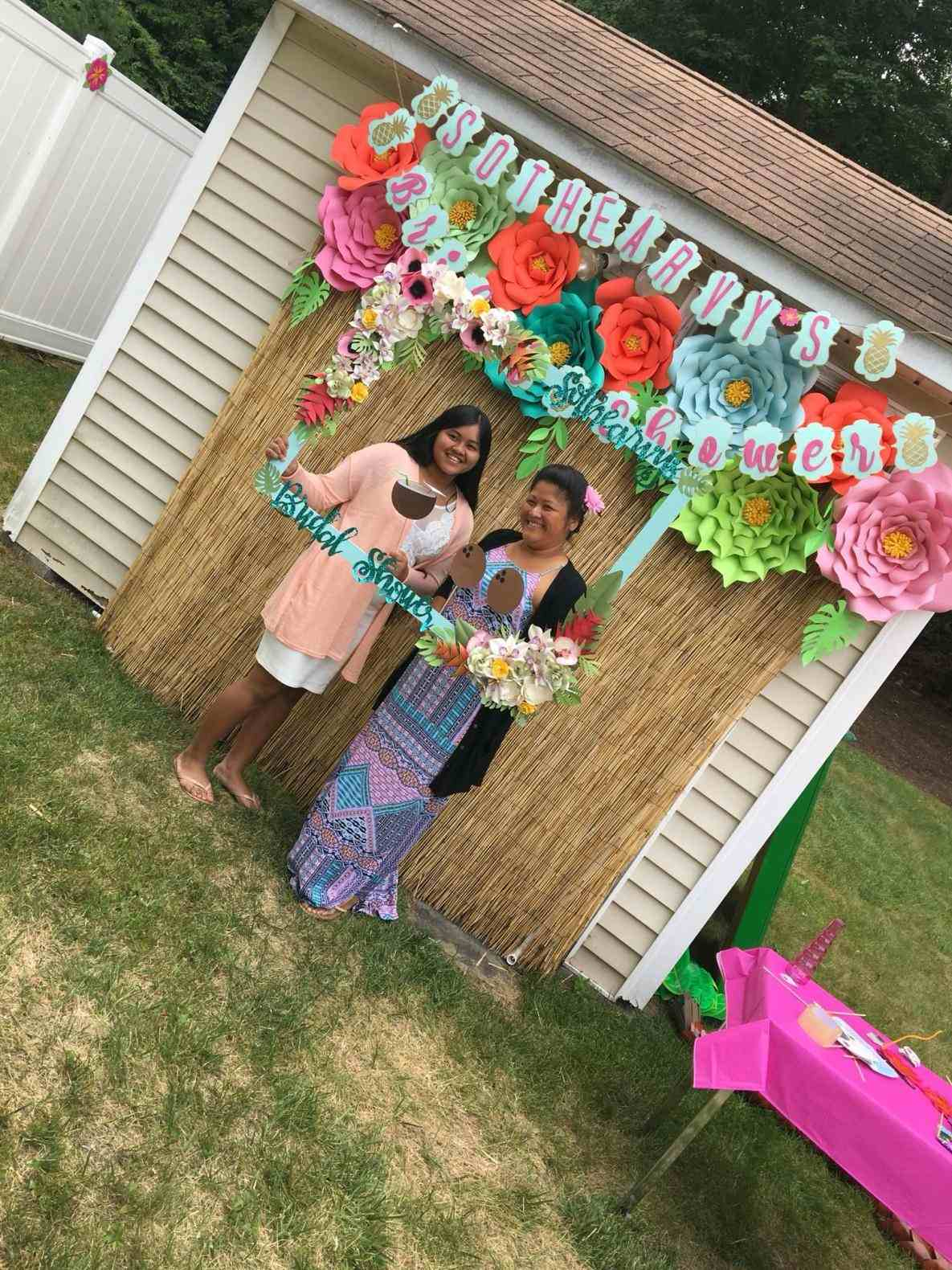 Backyard Luau Party Ideas Front Yard Landscape Fence pertaining to 12 Clever Designs of How to Craft Luau Backyard Party Ideas