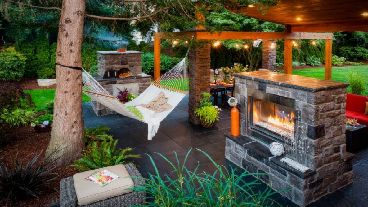 Backyard Patio Setup And Most Amazing Hammock Setup Ideas For House with regard to 14 Clever Tricks of How to Build Backyard Setup Ideas
