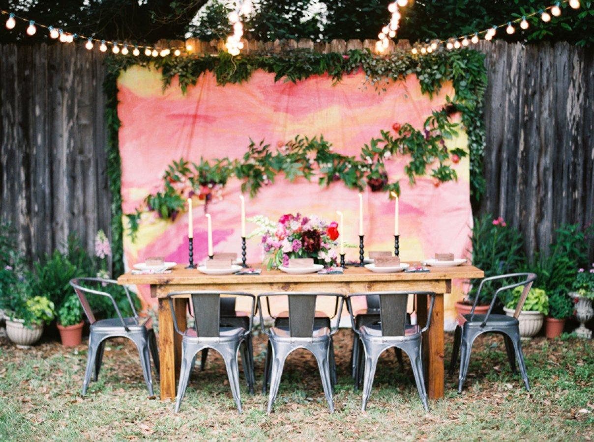 Backyard Wedding Decoration Ideas pertaining to 15 Awesome Concepts of How to Improve Ideas For Backyard Wedding