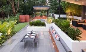 Best Top Gallery Of Modern Backyard Ideas Daighter Magazine Photos with Contemporary Backyard Ideas