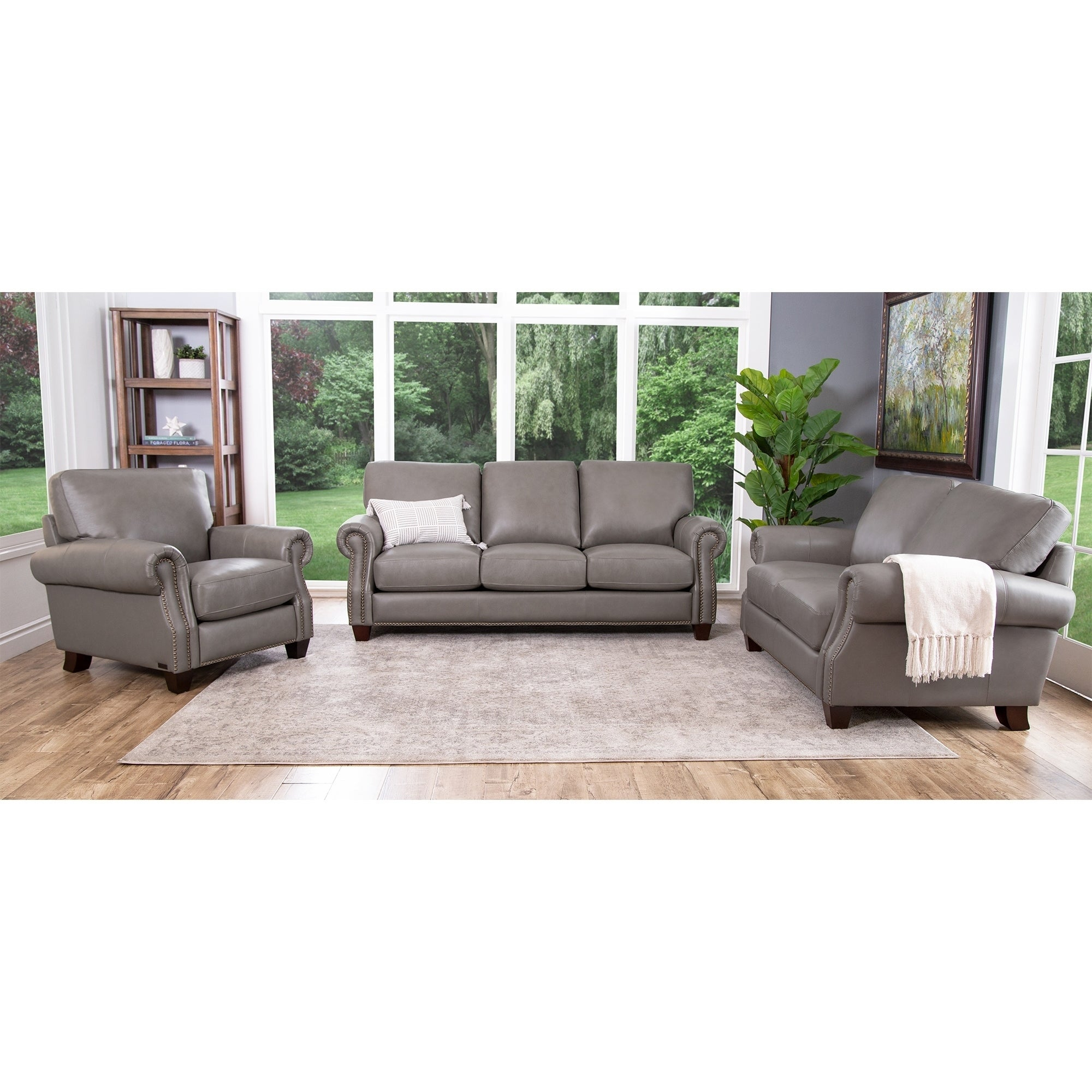Buy Leather Living Room Furniture Sets Online At Overstock Our with Cheap Leather Living Room Sets