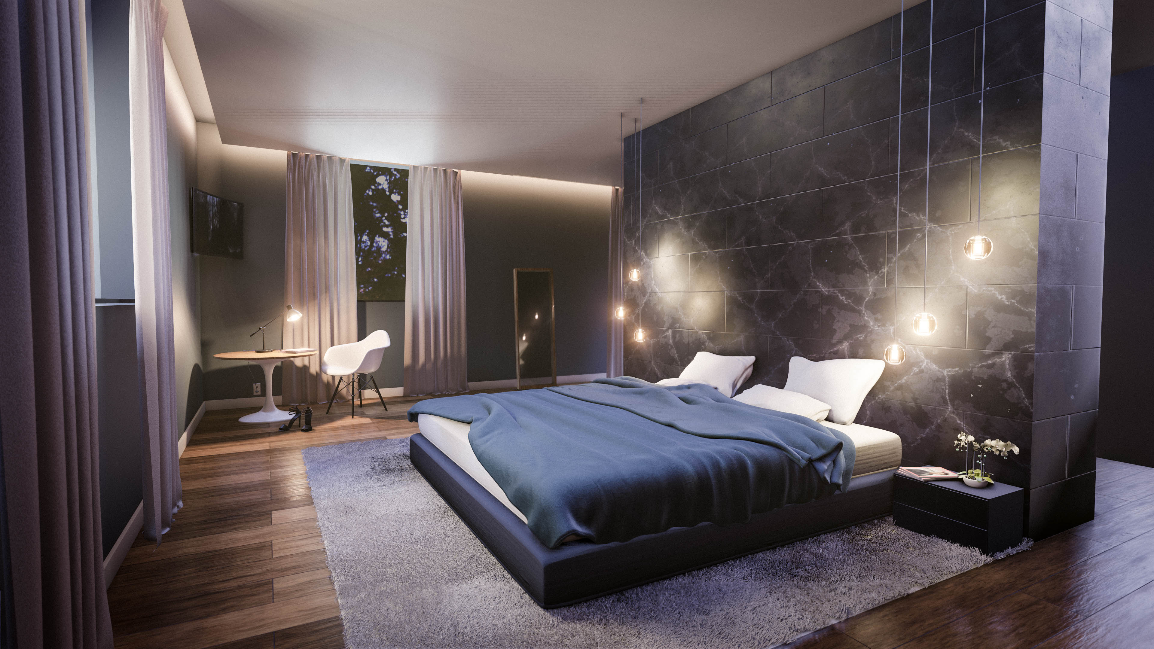 Create A Modern Bedroom Interior In Blender In 35 Minutes in Modern Pictures For Bedroom