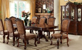 Cromwell Antique Cherry Formal Dining Room Set throughout 12 Genius Initiatives of How to Upgrade Formal Living Room Sets