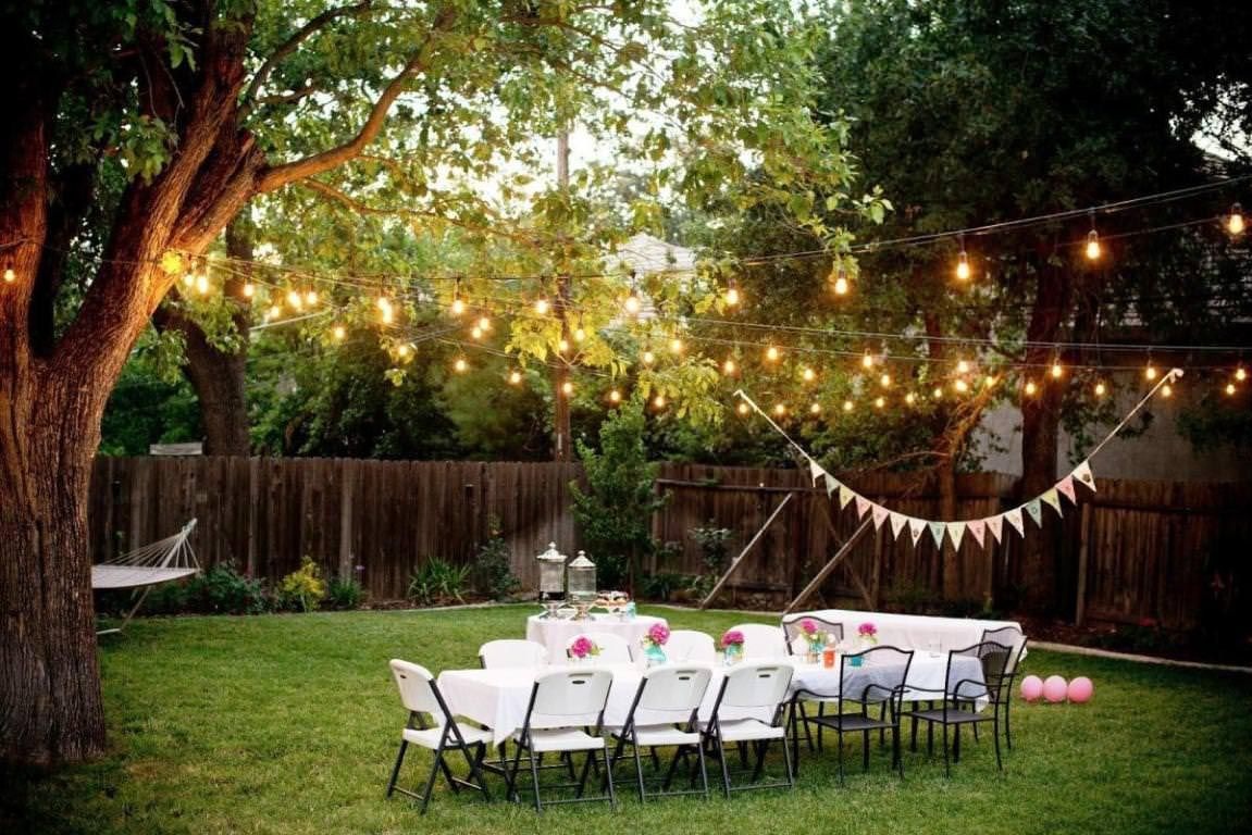 Decorating Ideas For A Bbq Party Bbq Backyard Party Lighting with 16 Smart Concepts of How to Makeover Backyard BBQ Decoration Ideas