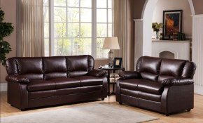 Details About Kings Brand Furniture 2 Piece Abanda Sofa Loveseat Living Room Set Brown for 13 Awesome Concepts of How to Make Room To Go Living Room Set