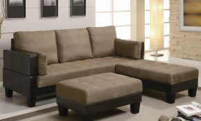 Ellesmere Contemporary Microfiber Sofa Bed Group With 2 Ottomans throughout 10 Genius Concepts of How to Make Futon Living Room Set