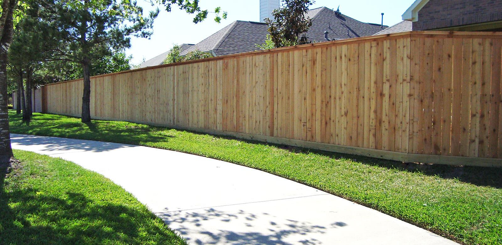 Fence Company Houston Tx Residential Commercial Fence regarding Fence For Backyard