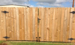 Fence How Can I Fix The Issues Im Having With Large Double Gates with regard to Backyard Fence Gate