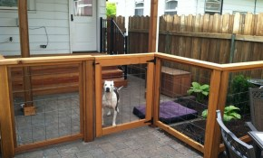 Fence Ideas For Dogs Backyard Fence Ideas To Keep Your Backyard with regard to Backyard Fence For Dogs
