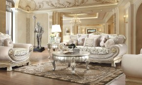 Ferrero Victorian Style Living Room within Victorian Style Living Room Set