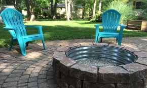 Fire Pit Backyard Backyard Retreat Paver Fire Pit Firepit Ideas pertaining to 10 Awesome Concepts of How to Improve Backyard Retreat Ideas