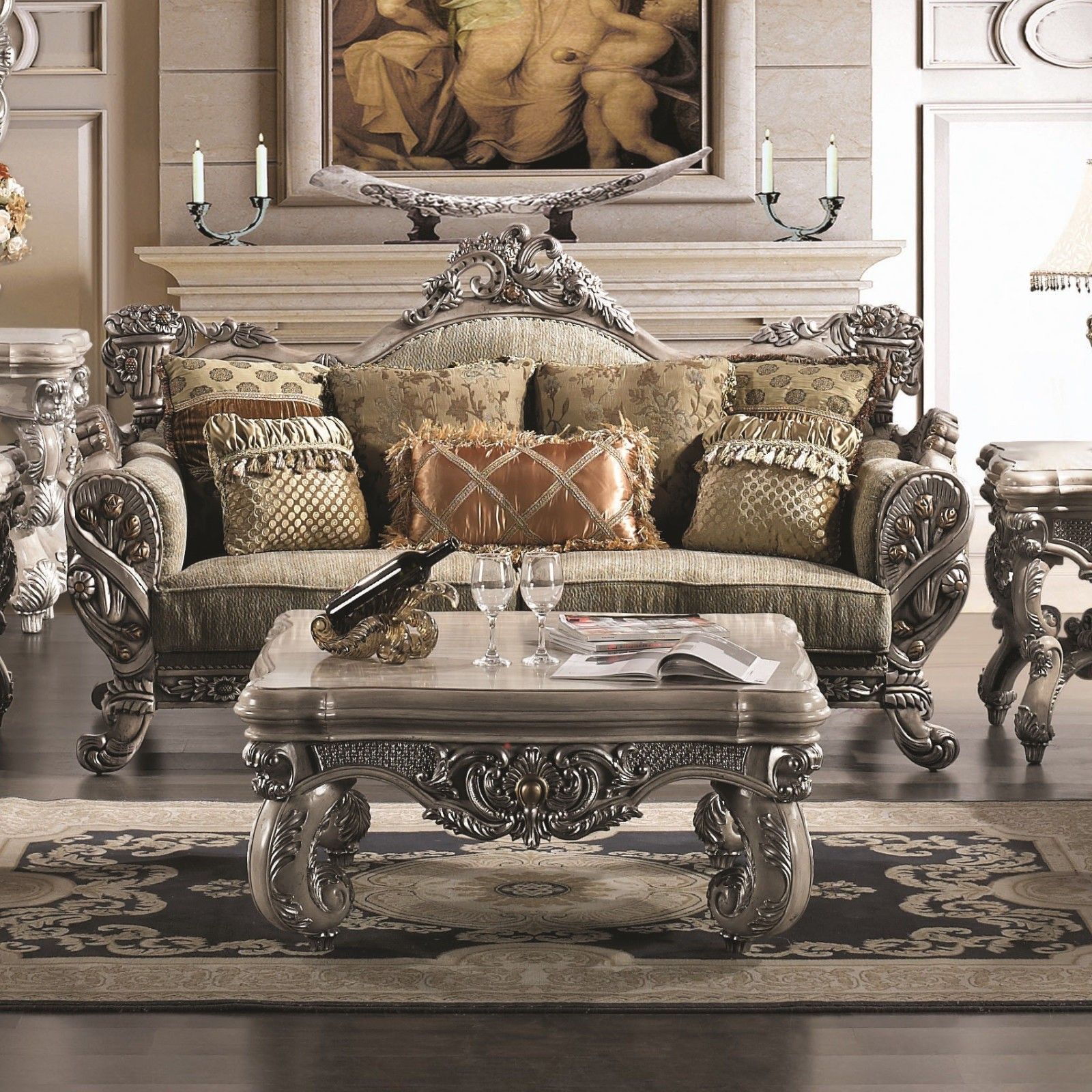 Get Inspired With Vintage Coffee Tables Home Decor Living Room for Traditional Living Room Sets