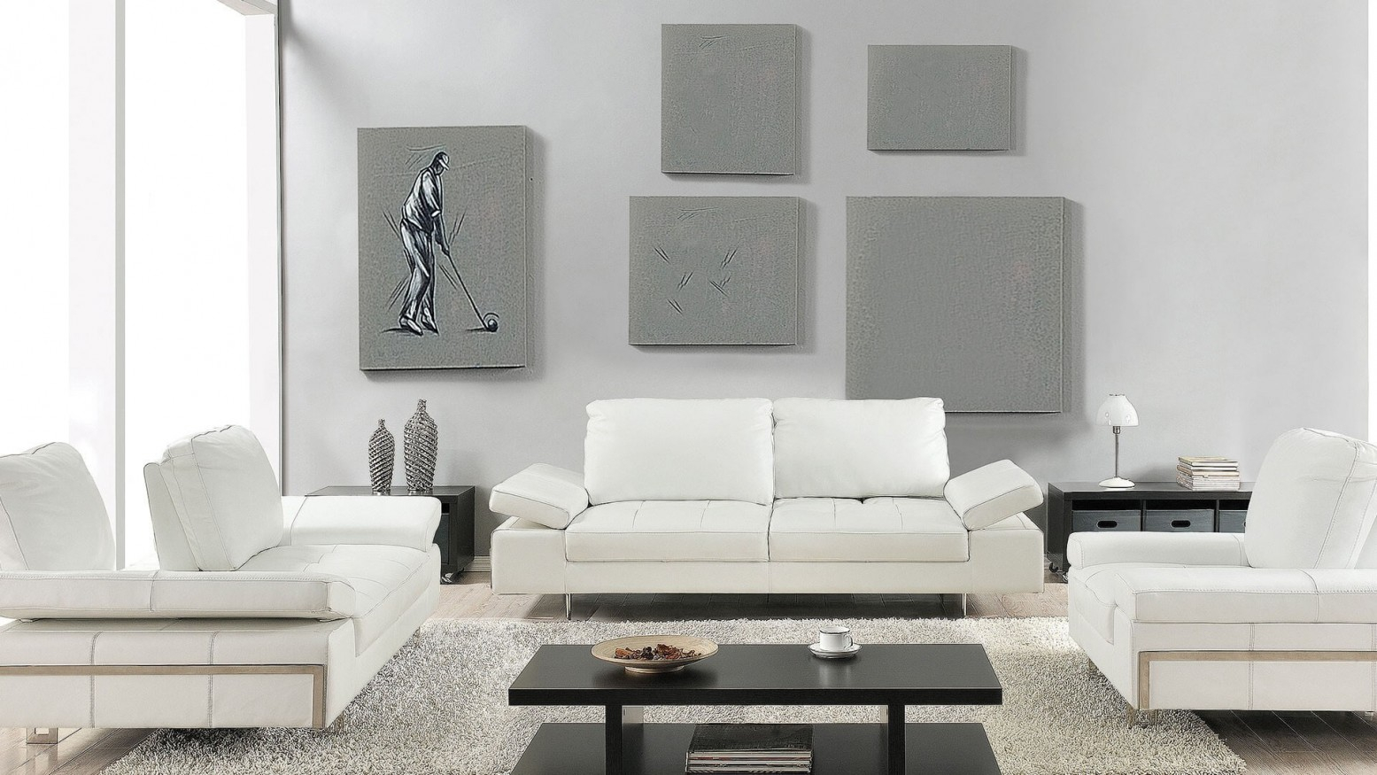 Gia 3 Piece Living Room Set White intended for 15 Some of the Coolest Tricks of How to Build White Living Room Set For Sale