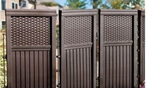 Go To The Website To Read More On Backyard Fence Options Diy Fence throughout Fence Options For Backyard