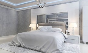 Grey And White Modern Master Bedroom Modern Master Bedroom pertaining to 11 Clever Tricks of How to Make White Modern Bedroom Ideas