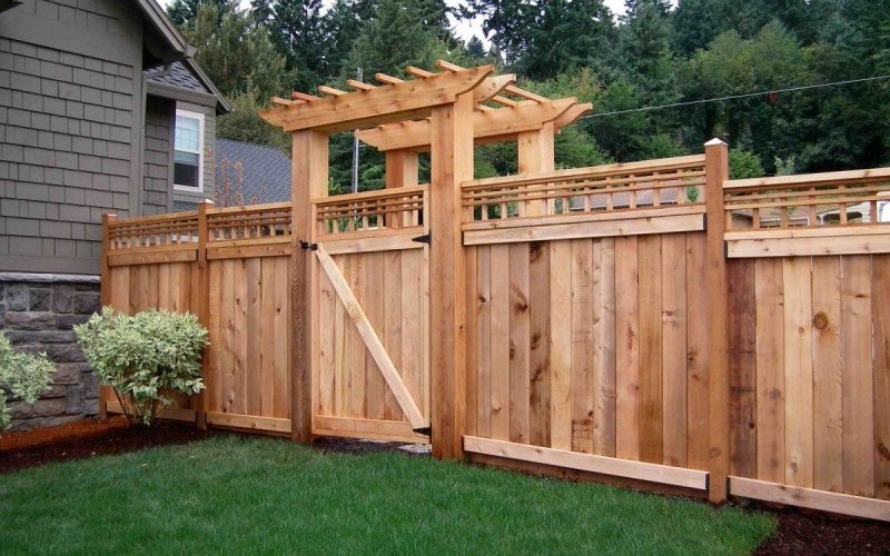 House Fencing Costs Materials And Installation Planning Pricing with How Much To Fence A Backyard