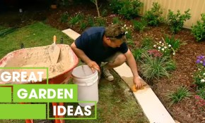 How To Make Great Garden Edging Gardening Great Home Ideas in 14 Some of the Coolest Tricks of How to Upgrade Backyard Border Landscaping Ideas