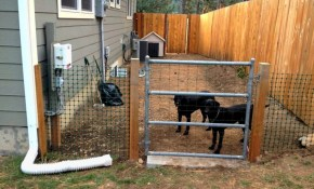 How To Use Temporary Dog Run Fence for 11 Awesome Ways How to Build Backyard Fences For Dogs