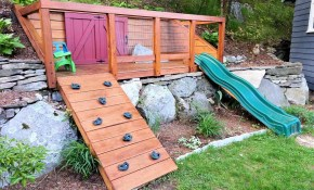 Ideas Small Sloped Backyard Ideas Images Design Inspiration intended for 11 Genius Initiatives of How to Craft Small Sloped Backyard Ideas