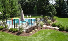 Landscaping Around Pool All Natural Landscapes Outdoor Ideas In with Landscaped Backyards With Pools