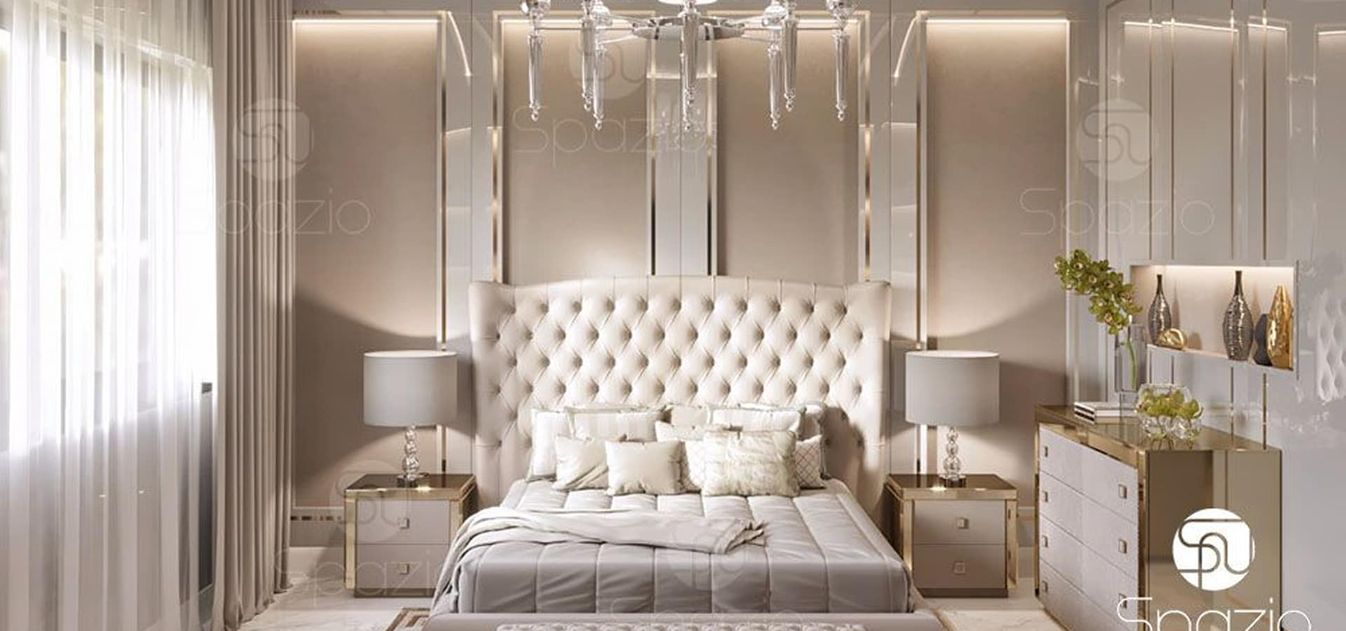 Luxury Modern Master Bedroom Interior Design And Decor In Dubai The within Interior Design Ideas For Bedrooms Modern