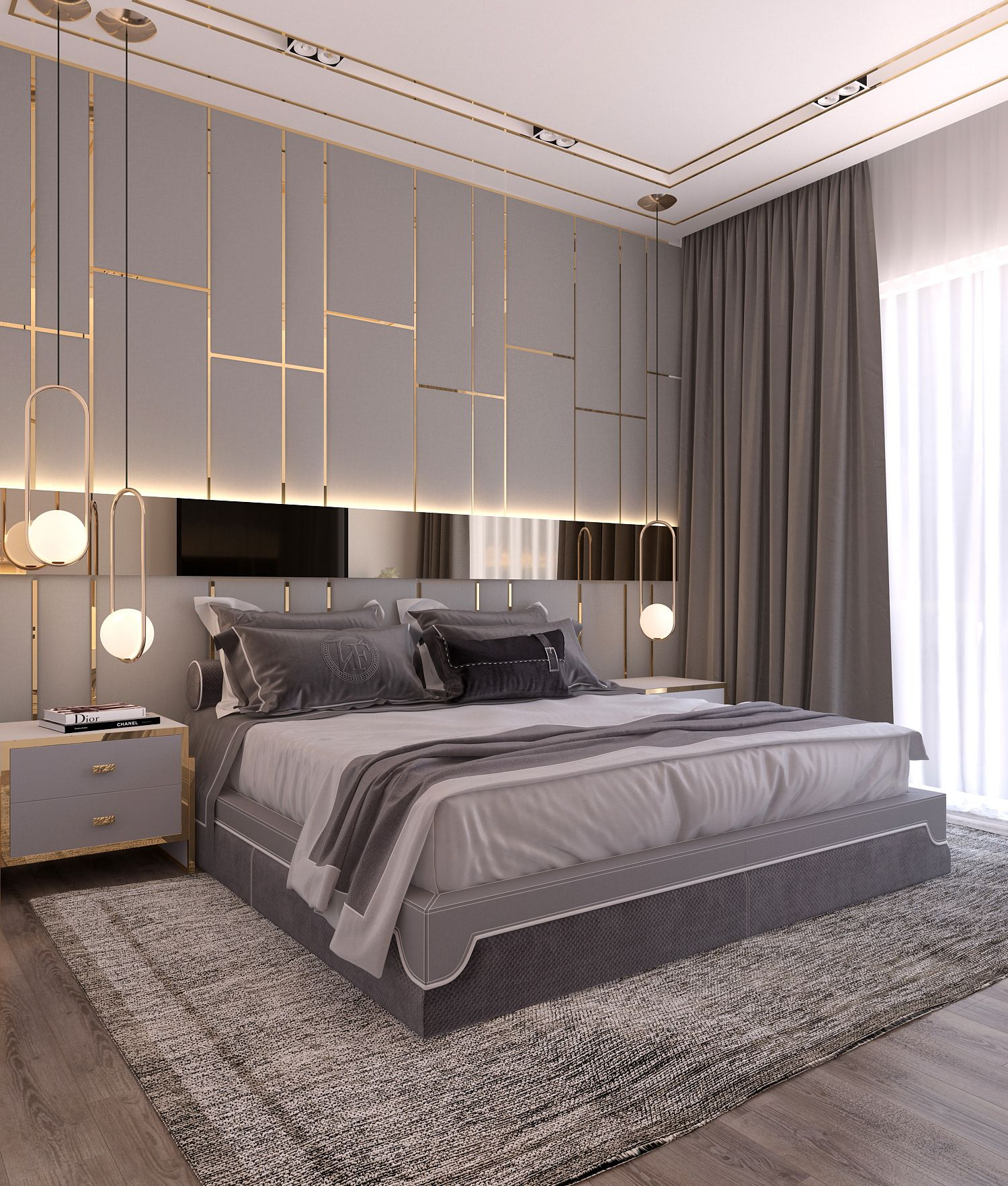 Modern Style Bedroom Dubai Project On Behance Bedrooms In 2019 with Modern Bedroom Bedding