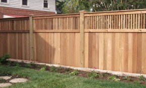 New Privacy Fence Idea For Our Backyard Description From Pinterest for 10 Some of the Coolest Initiatives of How to Upgrade Backyard Fence Styles