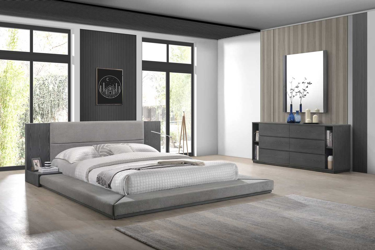 Nova Domus Jagger Modern Grey Bedroom Set for 13 Clever Initiatives of How to Craft Bedroom Set Modern