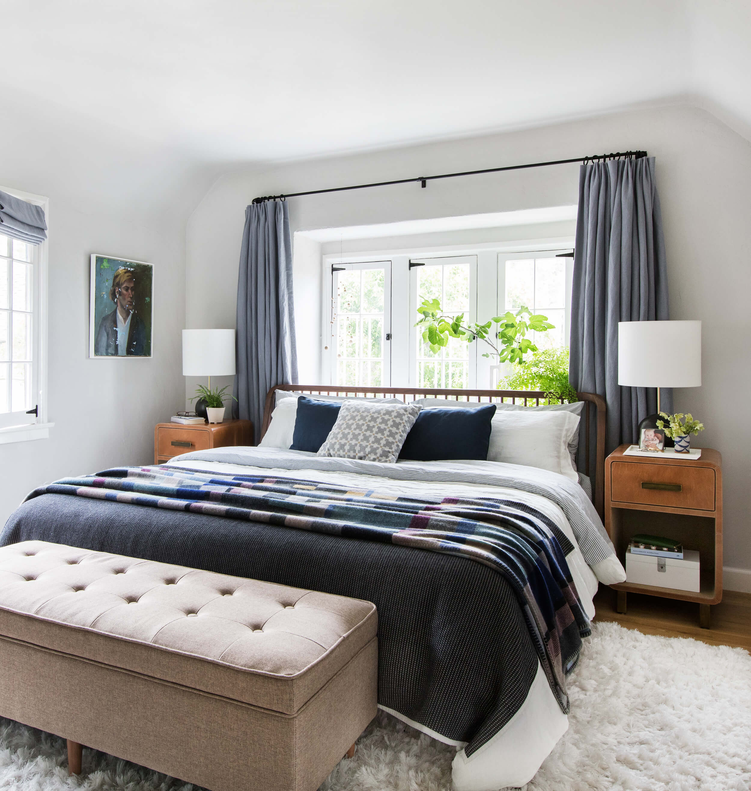 Our Master Bedroom Reveal Get The Look Emily Henderson throughout 12 Some of the Coolest Designs of How to Build Modern Bedroom Bedding