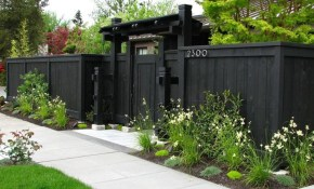 Outdoor Front Yard Fences Options Outdoor Front Yard Fence throughout 13 Clever Initiatives of How to Makeover Fencing Options For Backyard