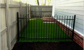 Portable Fence Backyard Frontyard Landscape Fence regarding Portable Backyard Fence