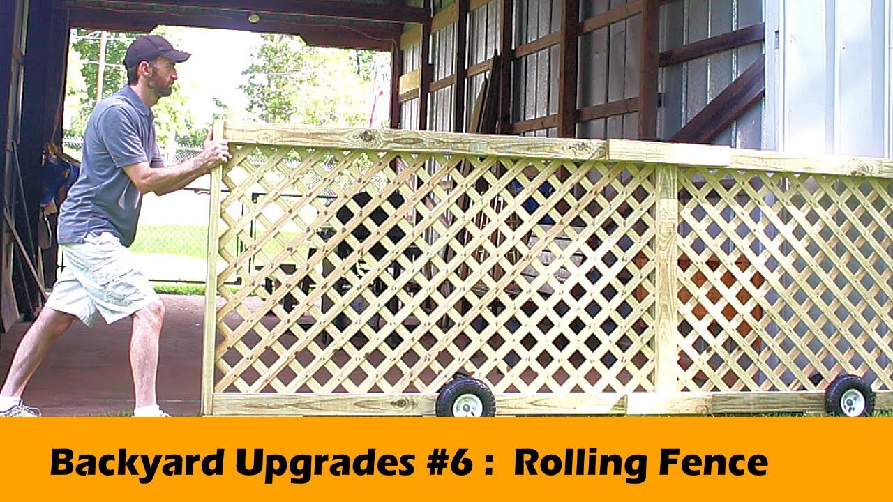 Rolling Fence Gate Diy Backyard Upgrades 6 with regard to 13 Smart Designs of How to Makeover Backyard Fence Gate