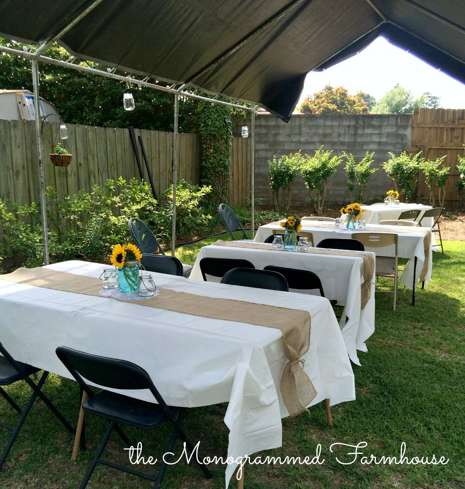 Rustic Country Themed Graduation Party Graduation Outdoor within 14 Awesome Designs of How to Craft Backyard Graduation Party Decorating Ideas