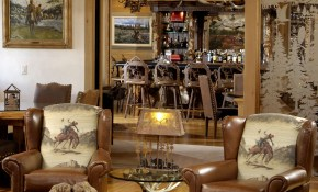 Rustic Western Ranch Home Love The Cowboy Chairs And The Antler pertaining to Western Living Room Set