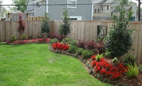 Simple Landscaping Ideas For Small Yards On A Budget Front Of House pertaining to How To Landscape A Backyard