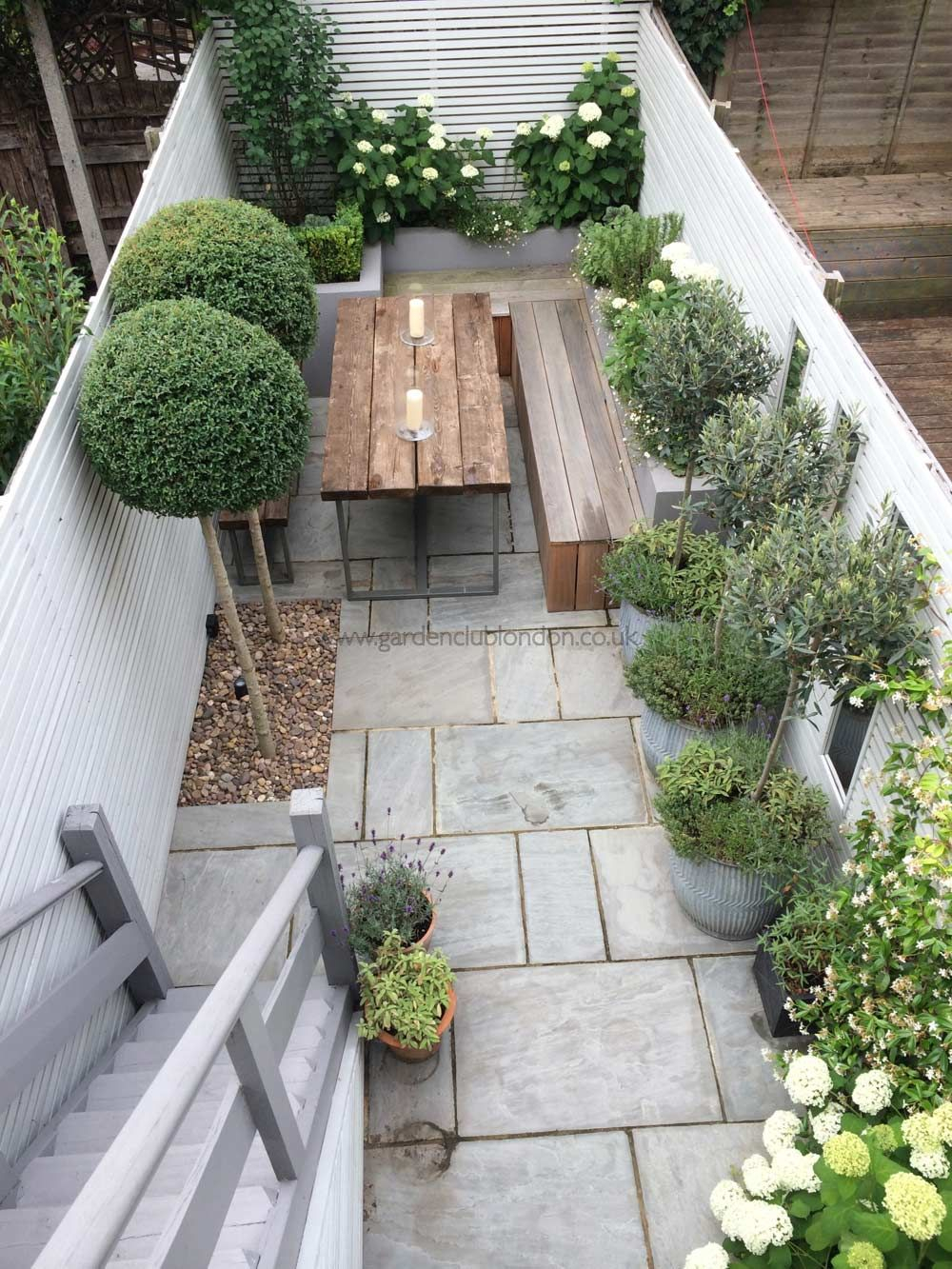 Slim Rear Contemporary Garden Design London Shuttleworth Small intended for 10 Clever Initiatives of How to Build Contemporary Backyard Ideas