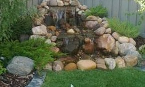 Small Backyard Decor And Small Waterfall Pond Landscaping For with regard to 12 Genius Concepts of How to Make Small Backyard Decor