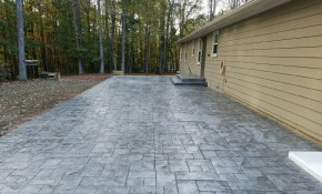 Stamped Concrete Design Ideas For Your Backyard Custom Concrete Inc with 15 Awesome Designs of How to Makeover Backyard Concrete Ideas