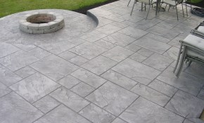 Stamped Concrete Patios Driveways Walkways Columbus Ohio regarding Backyard Stamped Concrete Patio Ideas