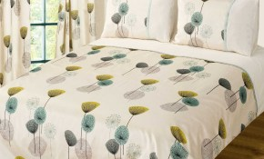 Teal Cream Colour Bedding Duvet Cover Set Stylish Poppy Floral Modern Design intended for 12 Some of the Coolest Designs of How to Build Modern Bedroom Bedding